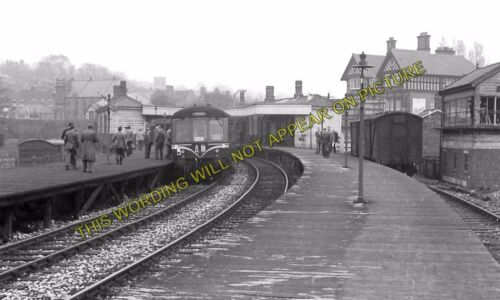 Ashbourne Railway Station Photo Rocester Line Clifton Thorpe Cloud 7