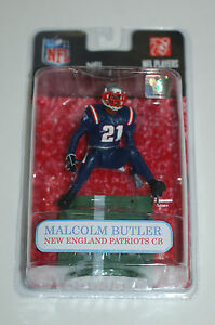 on sale 56248 c92e7 Details about Mcfarlane NFL Malcolm Butler New England Patriots custom  figure color rush