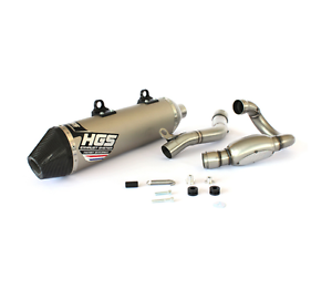 HGS MARMITTA SCARICO COMPLETO KTM EXC 250 F 2017 EXHAUST SYSTEM