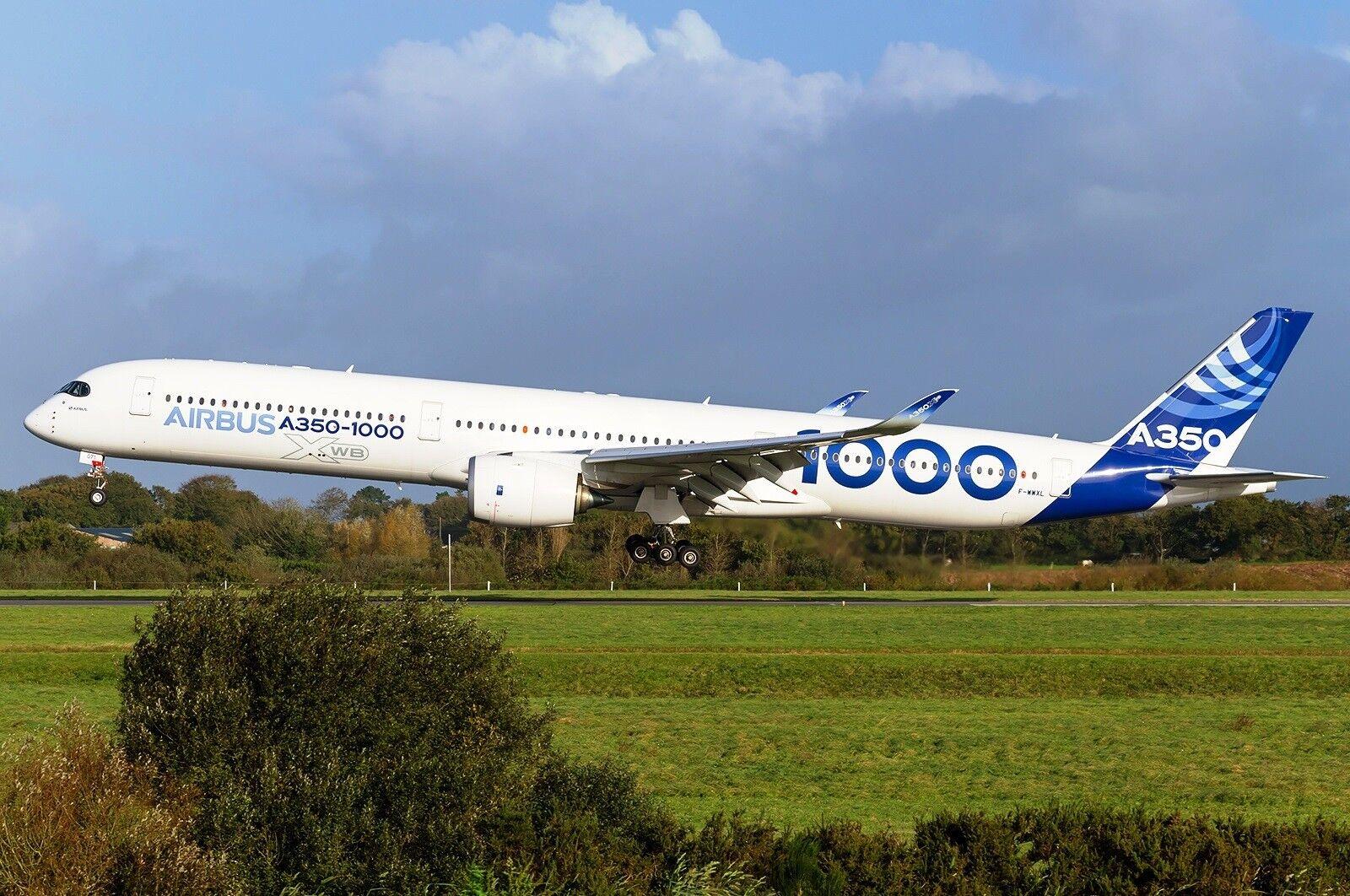 calidad fantástica Jc Wings LH2086A 1 200 Airbus A350-1000 F-wwxl F-wwxl F-wwxl Casa Color flaps abajo con Soporte  cómodo