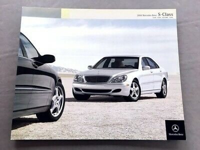 2006 Mercedes Benz S600 S55 AMG 38-page Sales Brochure Catalog S430 S500