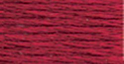 Set Of 12 DMC 6-Strand Embroidery Cotton 8.7yd-Garnet