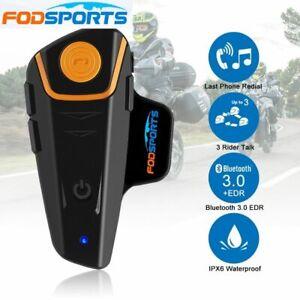2x-BT-S2-Bluetooth-Motorrad-Intercom-Headset-Helm-Gegensprechanlage-Sprechanlage