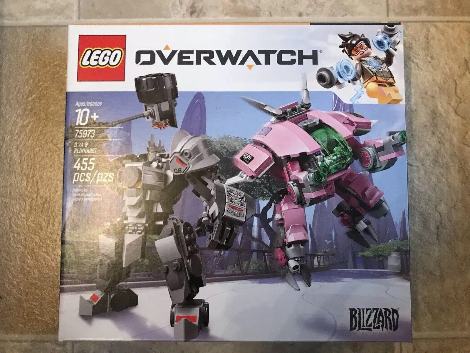LEGO 75973 Overwatch D.Va D.Va D.Va & Reinhardt - BRAND NEW    48734e