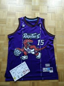 more photos 4a519 51e35 Details about NWOT Vince Carter Toronto Raptors Retro HWC Adidas Soul  Swingman Jersey Men XL
