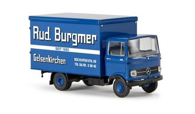 "Brekina 48537 -  1/87 Mb Lp 608 Koffer ""Rud. Burgmer"" - Neu"