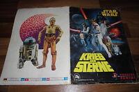 FIGURINE PANINI SAMMELBILDER-ALBUM -- STAR WARS / KRIEG der STERNE von 1977
