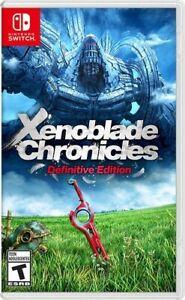 Xenoblade Chronicles Definitive Edition Nintendo Switch - Brand New on eBay thumbnail