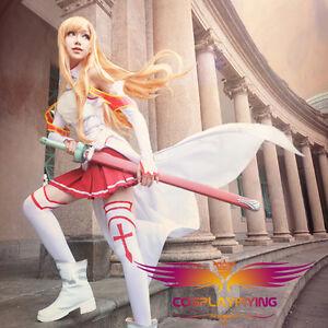 Sword Art Online Asuna Cosplay Shoes