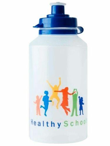 300 ml 500 ml 700 ml Childrens Plain Healthy School Bouteilles D/'Eau Bpa Gratuit x 100