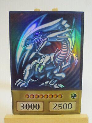 Blue Eyes w Dragon Anime Style Card Yugioh Orica Holo Proxie Custom