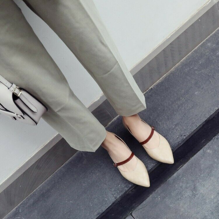 9348fe706c022 Square Shape High Heels Buckle Buckle Buckle Strap Flock Material ...