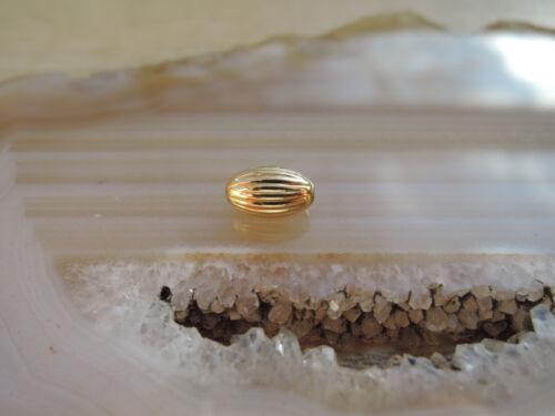 Olive 750 Gold Zwischenteil Spacer Kette Armband Schmuck Goldperlen