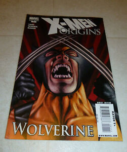 X-MEN-ORIGINS-Wolverine-1-YOST-amp-TEXIERA-HTF-Marvel-2009-ONE-SHOT-HTF