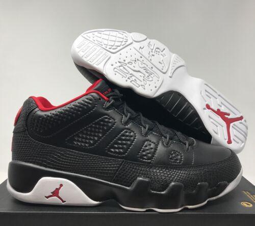 Sz gym Bred Black 13 832822 Nike Red 9 white Low Air Retro Jordan 001 AnUxTZqwv