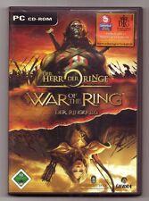 Der Herr der Ringe War Of The Ring Der Ringkrieg Aufbauspiel Schlachten PC Spiel