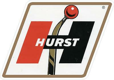 "#972 1 3.75/"" Vintage Repro Hurst Shifter Oldsmobile Decal Sticker Laminated"