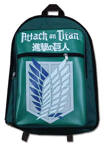 Scouting Regiment Emblem Backpack by GE Animation *NEW* Attack on Titan