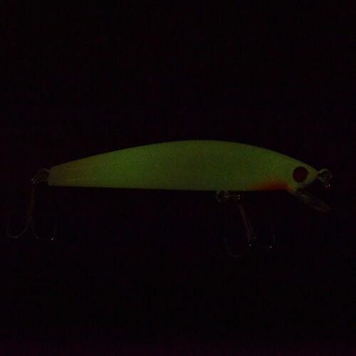 fishing lure bait kit luminous vibper crank minnow pencil glow lures 1pc SL