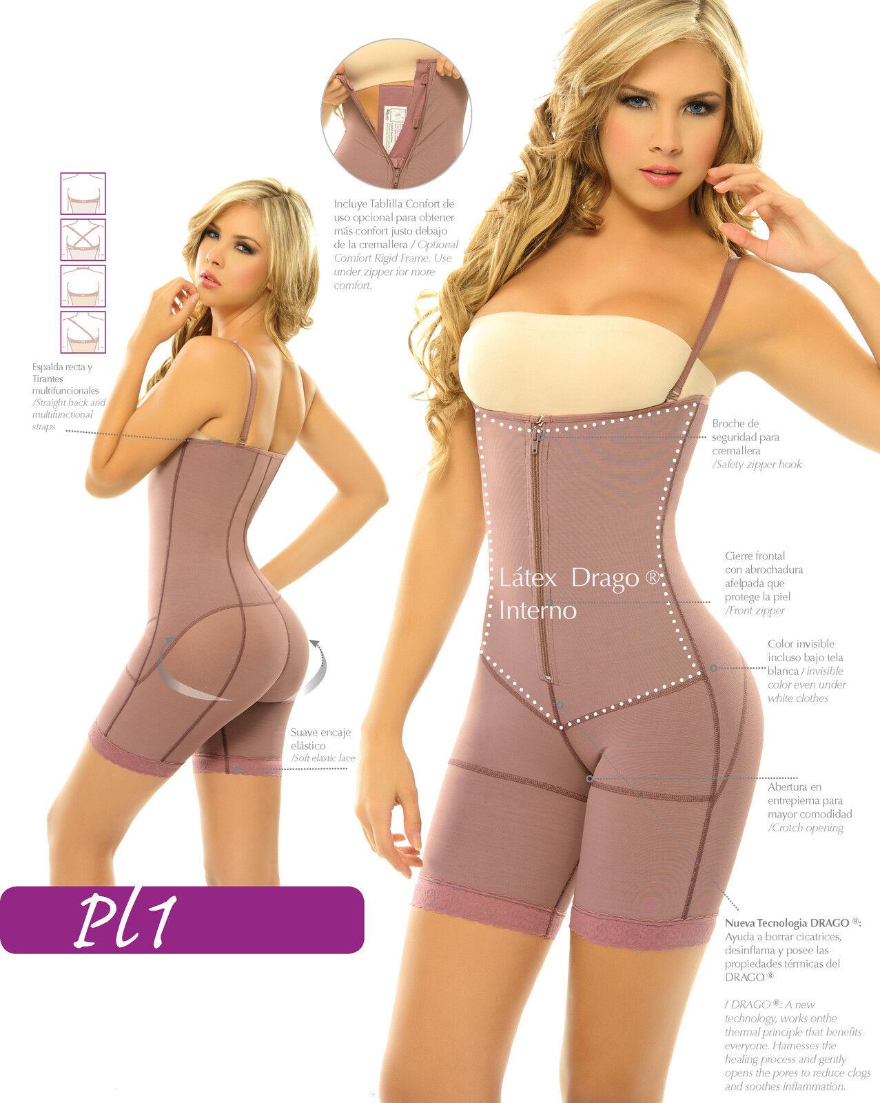 Siluet® Postpartum  High Compression Mid-Thigh Full Body Shaper