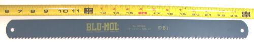 "2 NOS Millers Falls  18/"" x1-1//2/"" x.075/"" 4T BLU-MOL HS POWER HACKSAW BLADE #8604M"