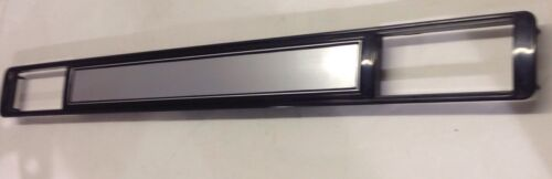73-80 chevy GMC NEW pickup truck dash AC vent plate cover brushed aluminum