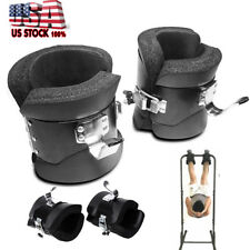 fitness 2 pairs anti gravity inversion boots therapy spine ab chin