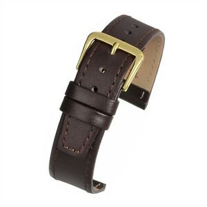 12mm-14mm-Black-or-Brown-Calf-Leather-Watch-quality-Strap