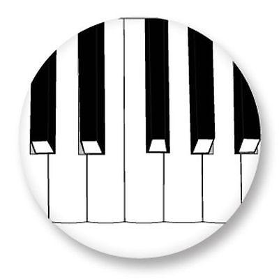 Magnet Aimant Frigo Ø38mm Piano Clavier Touche Musique Diatonique Chromatique