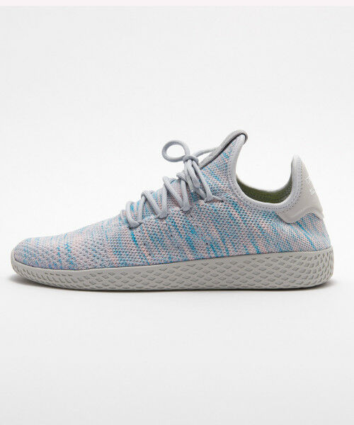 New Adidas Pharrell Williams PW Tennis HU Human Race BY2671 Blau grau Größe 5-10