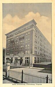PETERSBURG-VIRGINIA-HOTEL-PETERSBURG-HWY-1-amp-301-FIREPROOF-GRAYCRAFT-POSTCARD