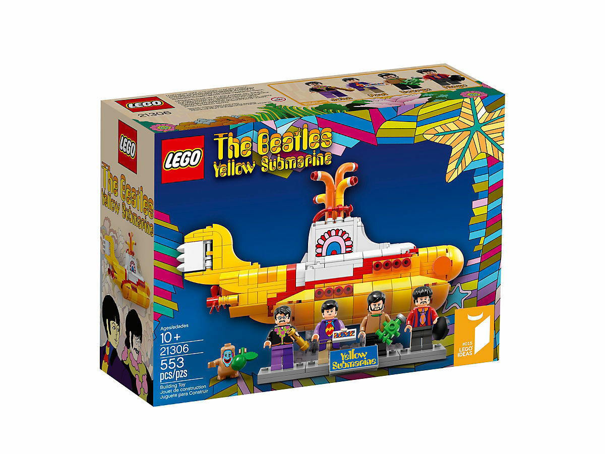 LEGO Ideas Yellow Submarine Limited Edition Model