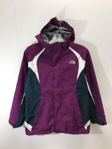 55367f6fb11d2 The North Face Hyvent Light Jacket Girls Size Large (14/16) Purple ...