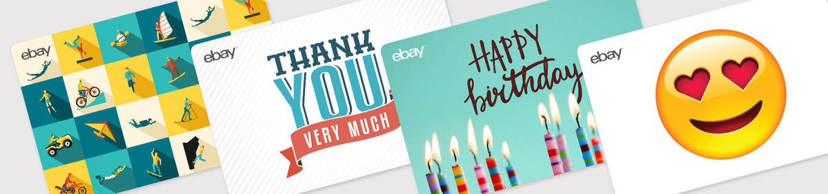 Gift cards ebay shop event digital ebay gift cards just the thing for any occasion negle Choice Image