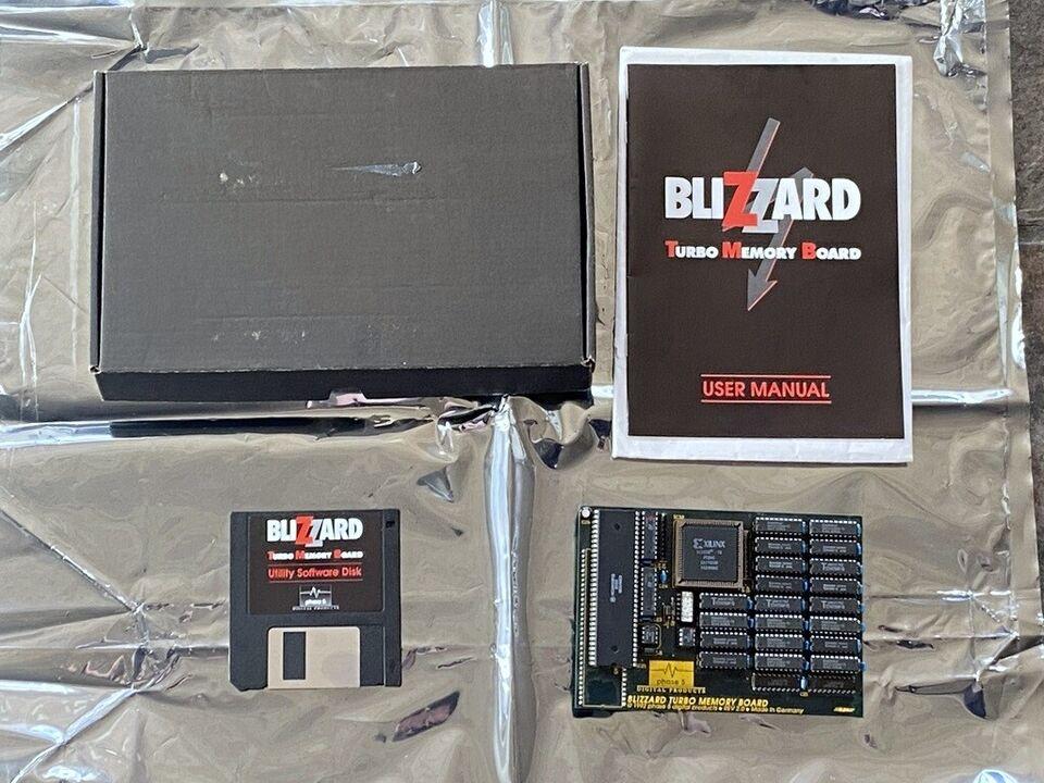 Phase5 Blizzard Turbo Memory Board til Amiga 500,