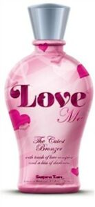 Supre-Tan-LOVE-ME-Bronzer-Indoor-Tanning-Bed-Lotion-Lot-of-3