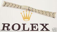 Rolex Oyster pulsera en acero inoxidable-remachados - 1960er - 61 - 19 mm-Bracelet