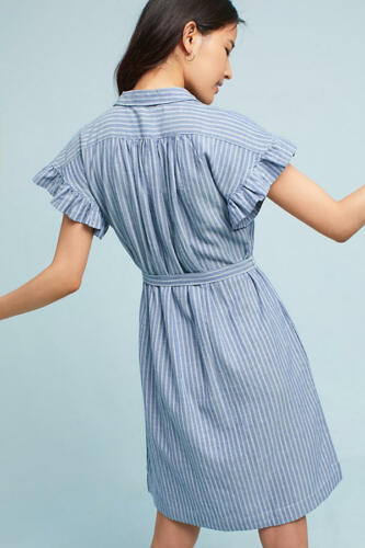 Xl Nwt 148 Sinclair Dress Camicia Anthropologie Isabella Sleeve Piper Flutter wPXqXz