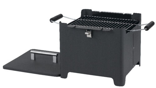 Tepro 1142 Chill/&Grill Holzkohlengrill Cube anthrazit