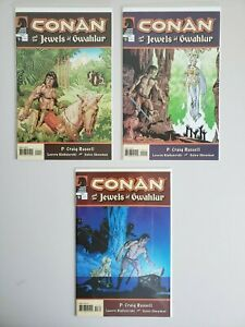 Conan-And-The-Jewels-Of-Gwahlur-1-2-3-Dark-Horse-Set-Series-Run-Lot-1-3-VF-NM