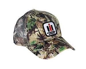 Image is loading International-Harvester-Logo-Camouflage-Hat-With-Mesh-Back- 8b15792dea81