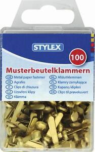 Musterbeutelklammern alternative  100 Musterbeutelklammer Postklammern Musterbeutelklammern ...