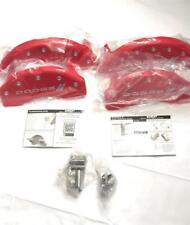 Mgp Set Of 4 Front Amp Rear Caliper Covers 2011 2019 Dodge Durango Red