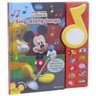 Publications International Toys Mickey Mouse Clubhouse Sing-along Songs Book