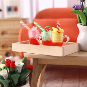 1-12-Dollhouse-Miniature-Food-Ice-Cream-Cups-Doll-Kitchen-Food-Accessories-YK