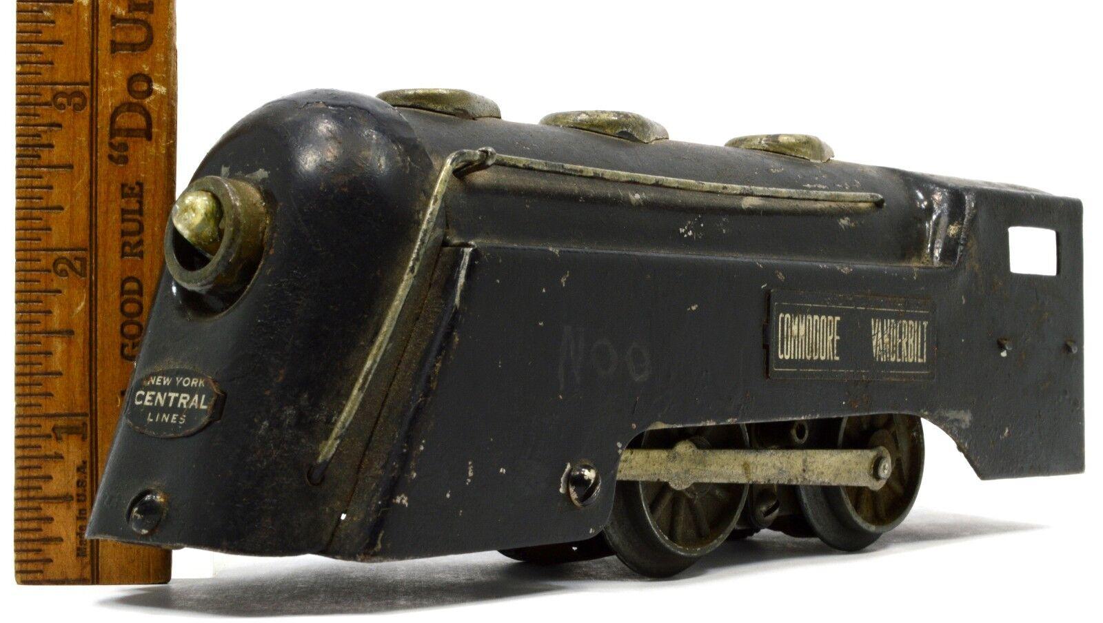 Vintage - marx commodore vanderbilt lokomotive lokomotive o-scale n.y. zentral