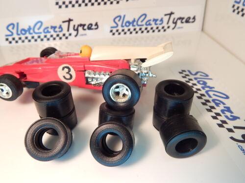 8 pneus arrières  URETHANE F1 SCALEXTRIC