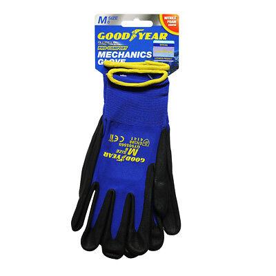 Goodyear Nitrile Foam Safety Work Gloves Garden Grip Builder Gardening Mechanics