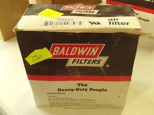 Baldwin PA662 Air Filter / Replaces Mack 81SD14 / No Gasket / FREE Shipping!