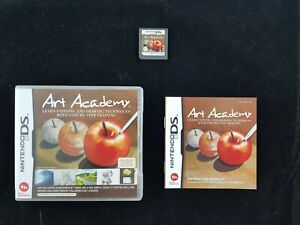 Art-Academy-Nintendo-Ds-game-Complete-Like-New-Free-Postage